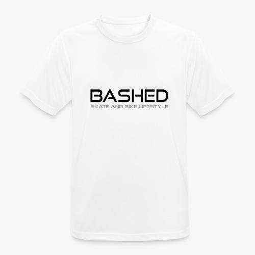 White Tee - mannen T-shirt ademend