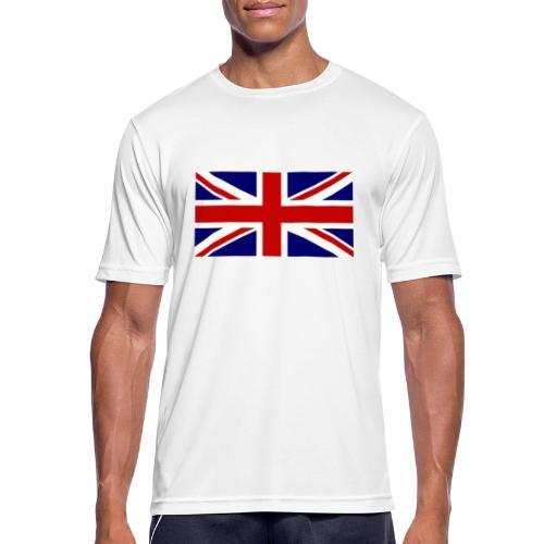 drapeau anglais - T-shirt respirant Homme
