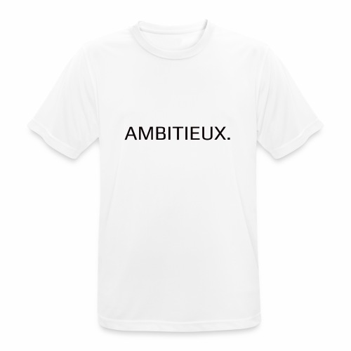 Ambitieux - T-shirt respirant Homme