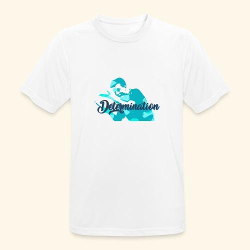 Determination to win the Championship - Männer T-Shirt atmungsaktiv
