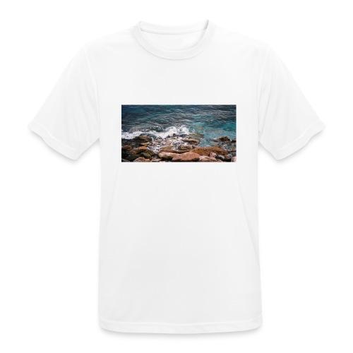 Handy Hülle Meer - Männer T-Shirt atmungsaktiv