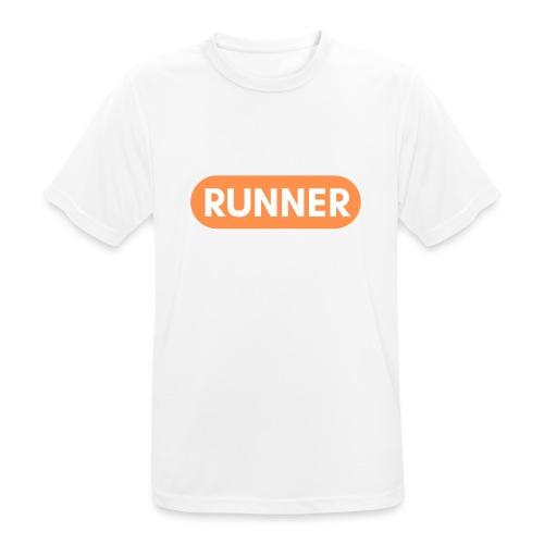 RUNNER - Mannen T-shirt ademend