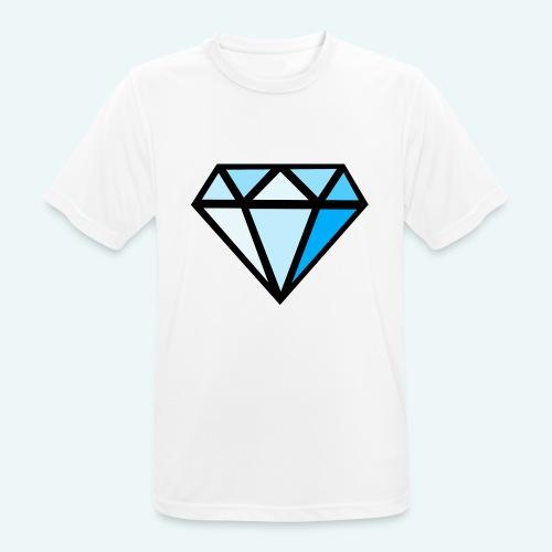 FCTimantti logo ilman tekstia - miesten tekninen t-paita