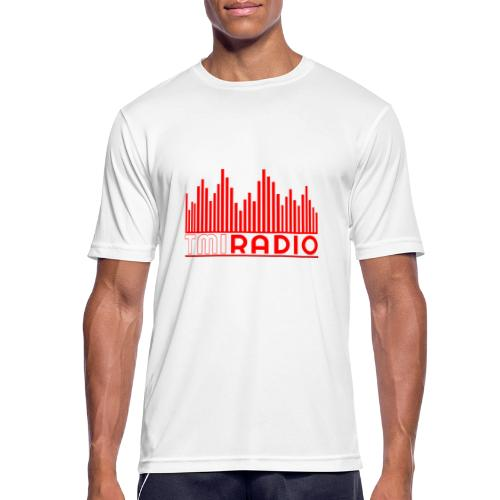 NEW TMI LOGO RED AND WHITE 2000 - Men's Breathable T-Shirt