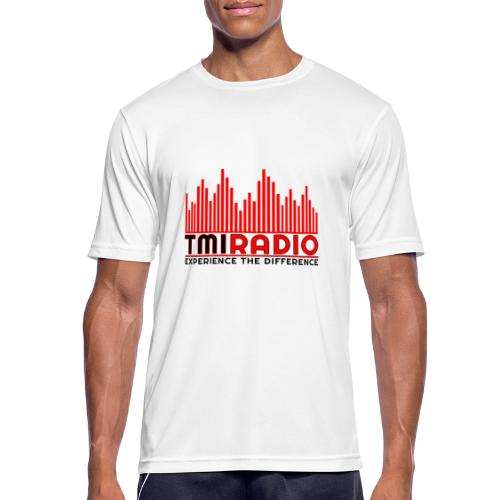 NEW TMI LOGO RED AND BLACK 2000 - Men's Breathable T-Shirt