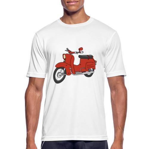 Schwalbe (ibizarot) - Männer T-Shirt atmungsaktiv