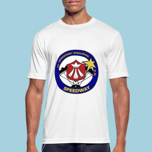 MCN Logo beidseitig - Männer T-Shirt atmungsaktiv