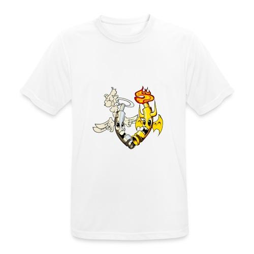 engel_teufel_color_ohne_s - Männer T-Shirt atmungsaktiv