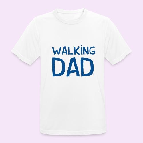 Vierdaagse Nijmegen - Walking Dad BLUE - Mannen T-shirt ademend actief