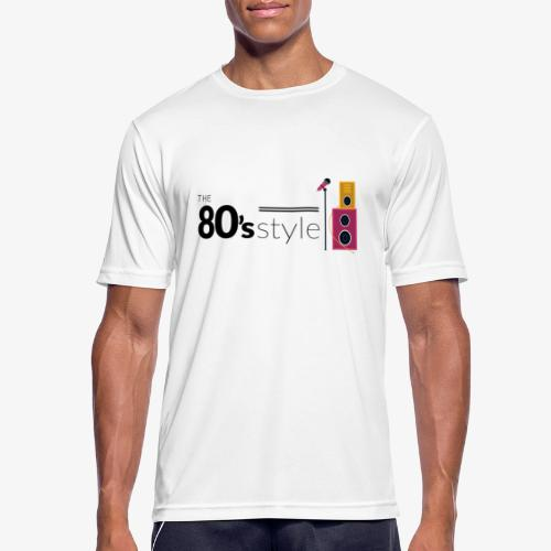 80s - Camiseta hombre transpirable