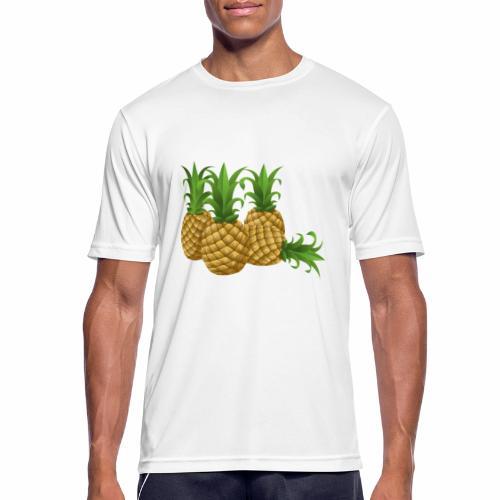 Ananas - Männer T-Shirt atmungsaktiv