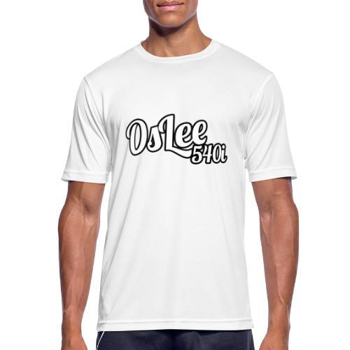 OsLeeLogoschattenGross - Männer T-Shirt atmungsaktiv