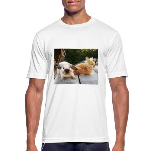 Nouche en Ninou - Mannen T-shirt ademend actief