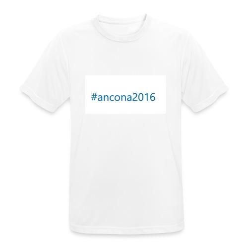 #ancona2016 - Camiseta hombre transpirable