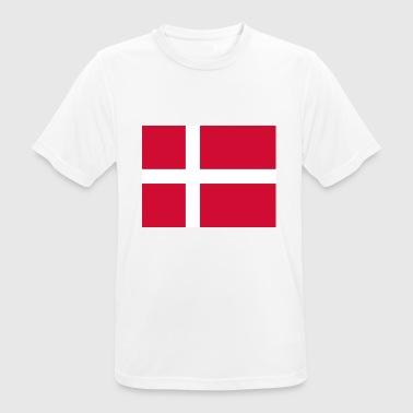 Dänemark - Männer T-Shirt atmungsaktiv