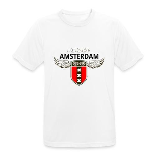 Amsterdam Netherlands - Männer T-Shirt atmungsaktiv