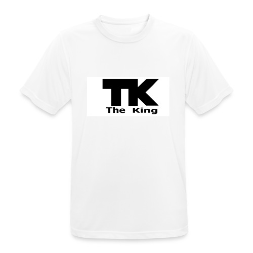 The King med ram - Andningsaktiv T-shirt herr