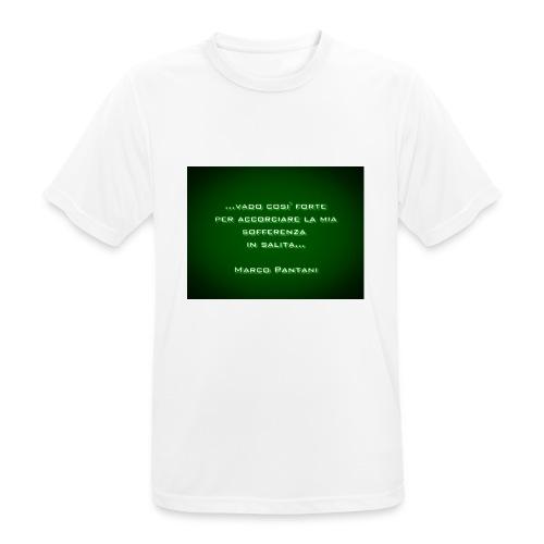 Citazione - Maglietta da uomo traspirante