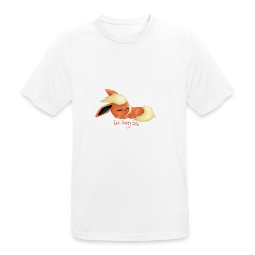 eevee - flareon - the sleppy one - Men's Breathable T-Shirt