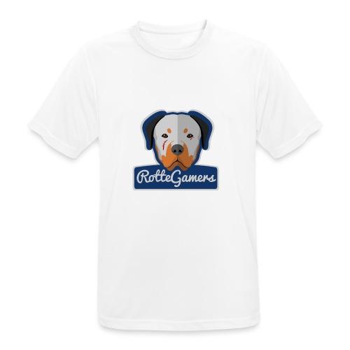 Original RotteGamers Hoodie Logo - Mannen T-shirt ademend actief