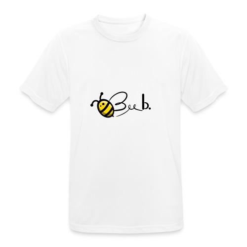 Bee b. Logo - Men's Breathable T-Shirt