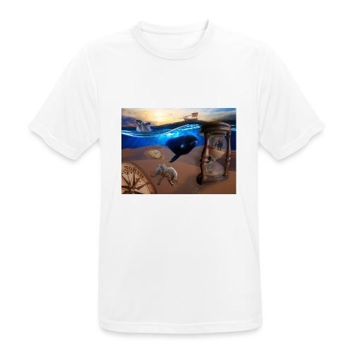 Wodne Przemyślenia - Koszulka męska oddychająca