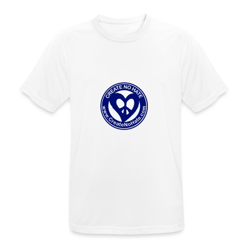 THIS IS THE BLUE CNH LOGO - Men's Breathable T-Shirt