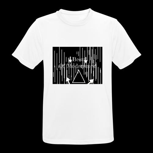 Bestofmodernmen - Maglietta da uomo traspirante