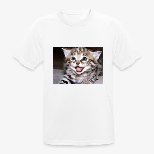 Cute Cat - Men's Breathable T-Shirt