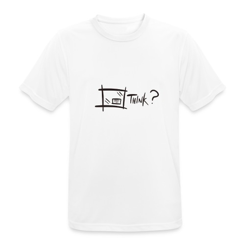 Think Outside The Box - Men's Breathable T-Shirt