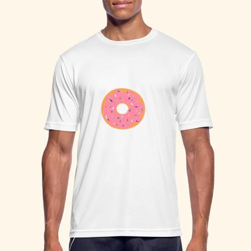 Donut-Shirt - Männer T-Shirt atmungsaktiv