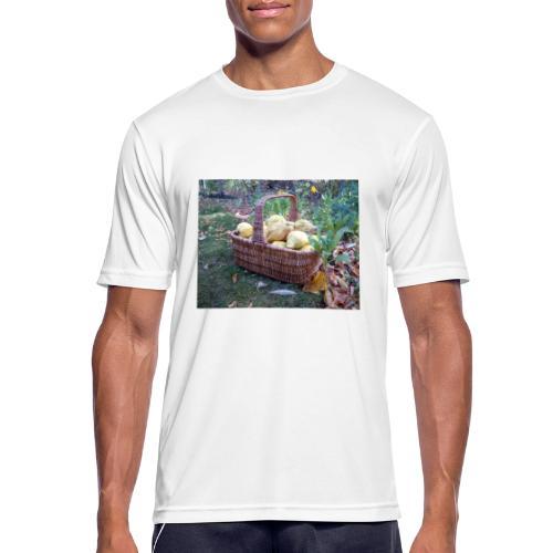 Quitten-Korb - Männer T-Shirt atmungsaktiv