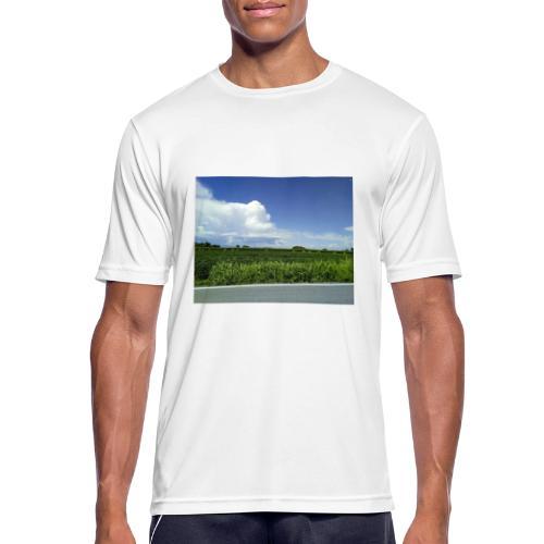 prato verde - Maglietta da uomo traspirante