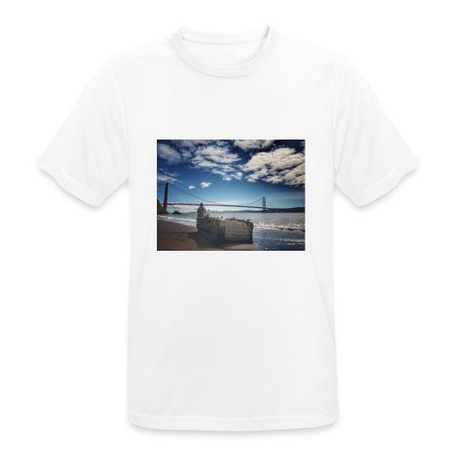 poncio - Camiseta hombre transpirable