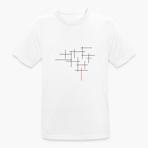 Str1ve simple lines - Mannen T-shirt ademend actief