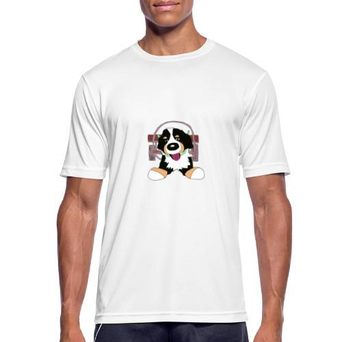 Bernerdrag - Andningsaktiv T-shirt herr