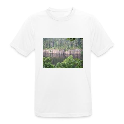 Laatokan maisemissa - miesten tekninen t-paita