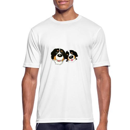 hane och hona - Andningsaktiv T-shirt herr