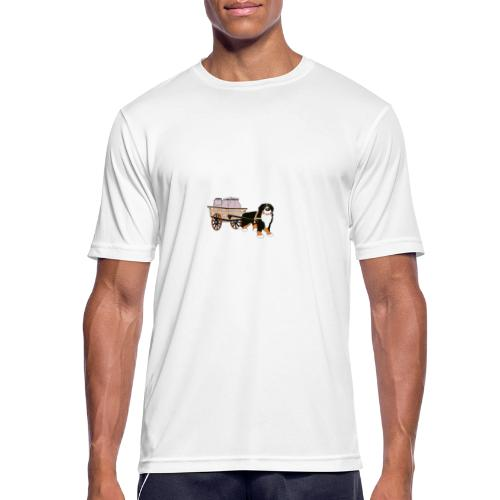 bernerhane drag - Andningsaktiv T-shirt herr