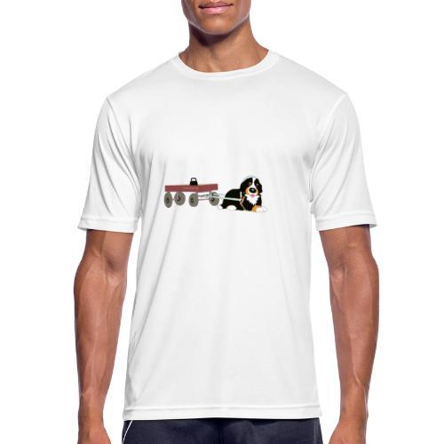 bernerdrag hona - Andningsaktiv T-shirt herr