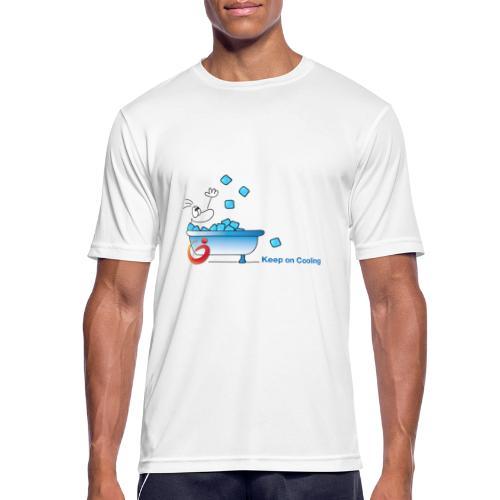 Keep on Cooling Original - Männer T-Shirt atmungsaktiv
