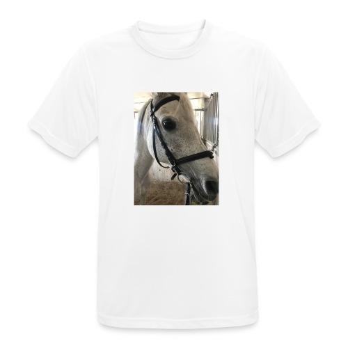 9AF36D46 95C1 4E6C 8DAC 5943A5A0879D - Pustende T-skjorte for menn