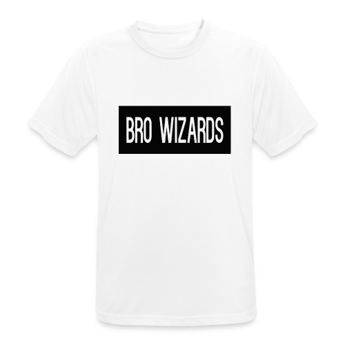 Browizardshoodie - Men's Breathable T-Shirt
