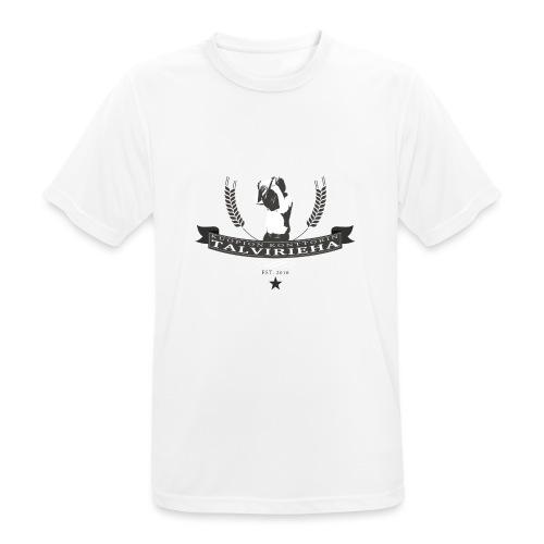 Talvirieha - miesten tekninen t-paita