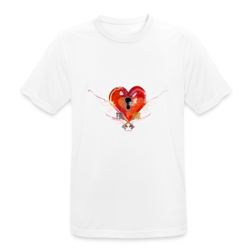 stvalentinmotif2 - T-shirt respirant Homme