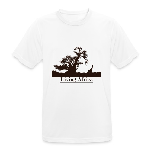 Ultimate_Living_Africa-png - Maglietta da uomo traspirante