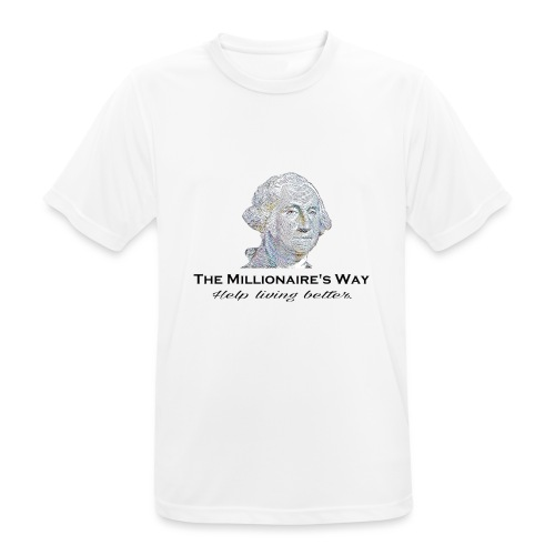 Il nostro logo - Maglietta da uomo traspirante
