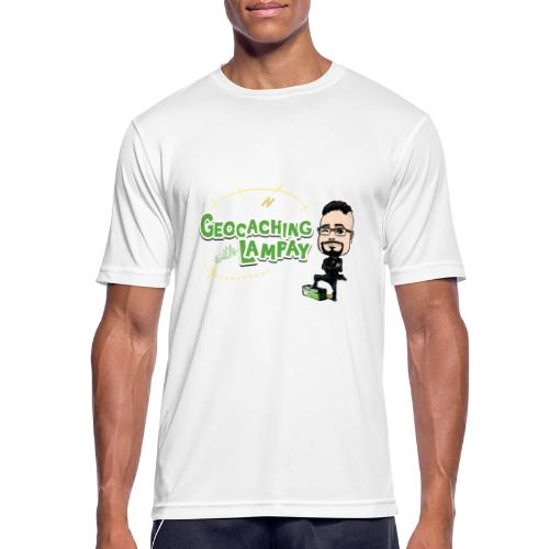 Geocaching With Lampay - T-shirt respirant Homme