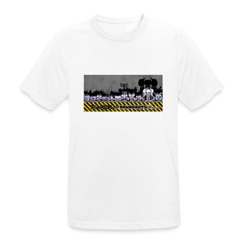 #MarchOfRobots ! LineUp Nr 2 - Herre T-shirt svedtransporterende