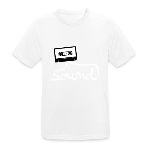 camiseta_Sound-png - Camiseta hombre transpirable